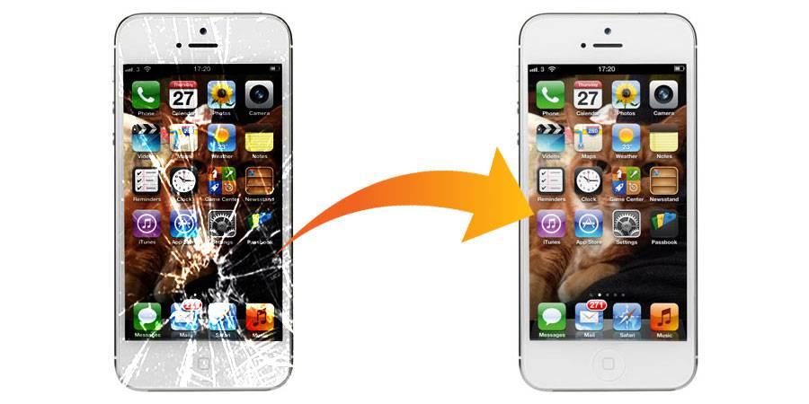 смяна на стъкло на iPhone 5