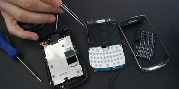 сервиз на Blackberry