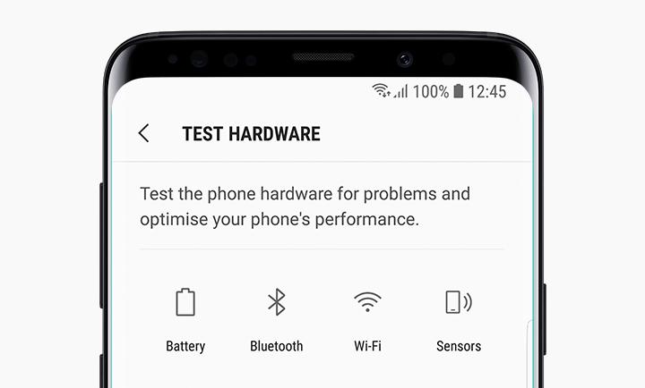 Диагностика на Samsung