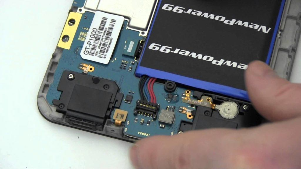 Подмяна на батерия на таблет